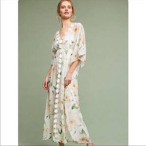 Anthropology Farm Rio Dahlia Boho Maxi Dress. NWT